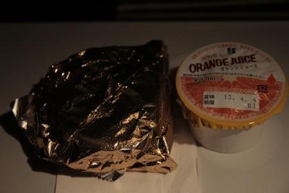 機内食 おやつ