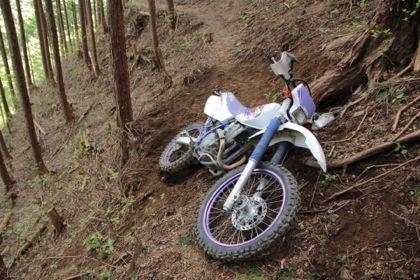 バイク事故?