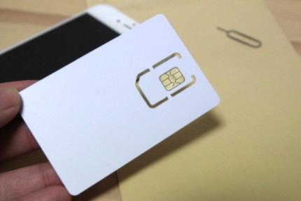 iphone6 アクティベートSIMカード