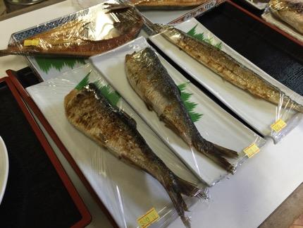 焼き魚が充実