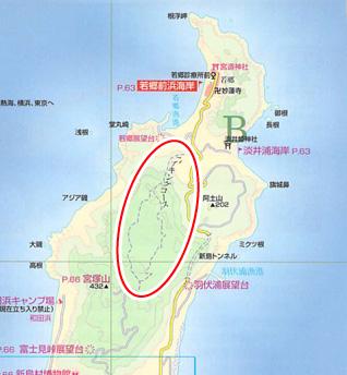 新島 幻のハイキングコース
