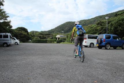 自転車で散策