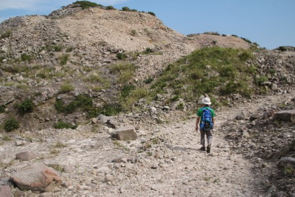 そして石山トレッキングコースへ。