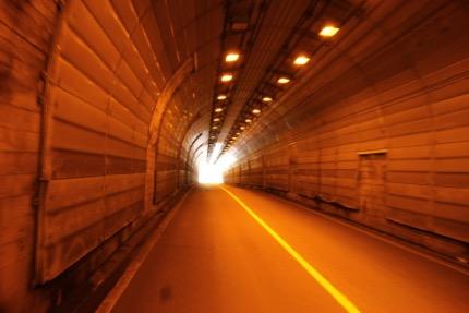 ほんとトンネルが多い。