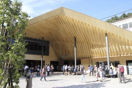 高尾駅が新しくなってた。