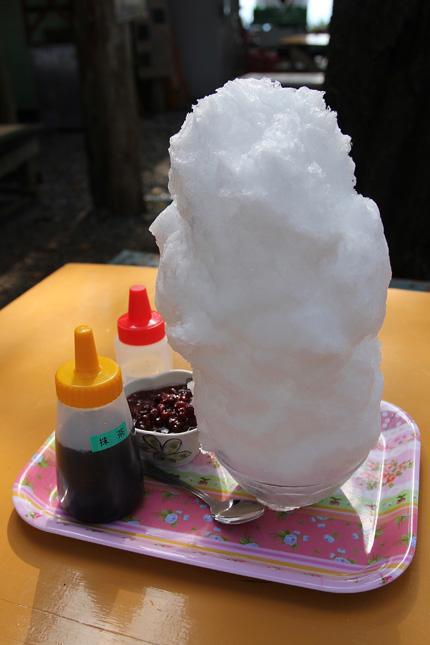 春美茶屋のかき氷 大