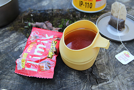 そして食後に紅茶。