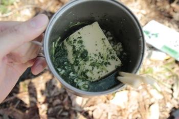 高野豆腐とラーメン。