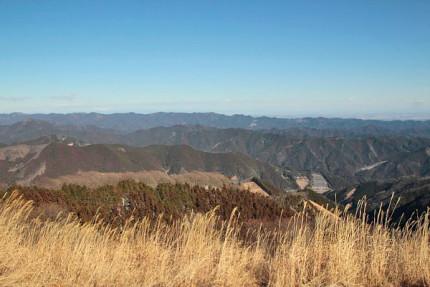 棒ノ嶺からの眺め