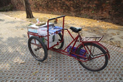タイの働く自転車