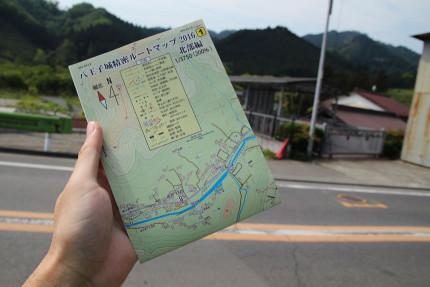 八王子城精密ルートマップ