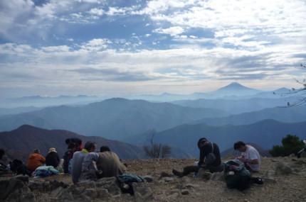 鷹ノ巣山からの展望