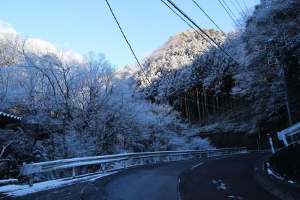 神戸岩方面へ歩く
