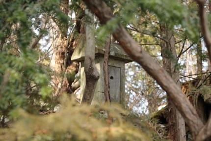 護摩壇岩 2つめの祠