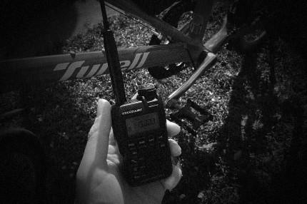 無線と自転車